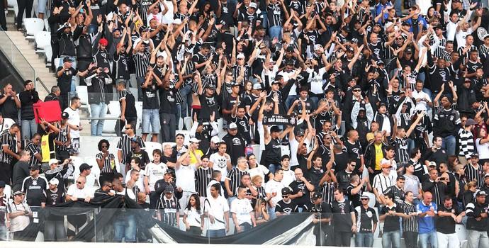 Teste Arena Corinthians (Corinthians x Corinthians) (Foto: Marcos Ribolli)