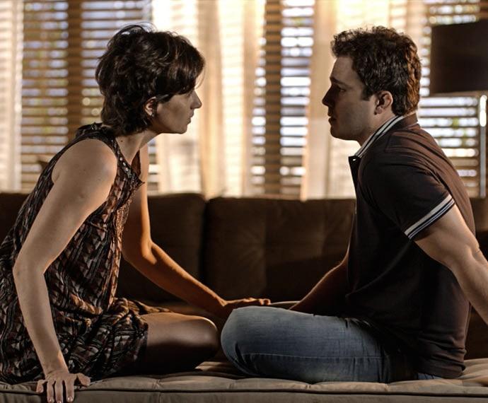Será que Luís e Isabel vão terminar? (Foto: TV Globo)