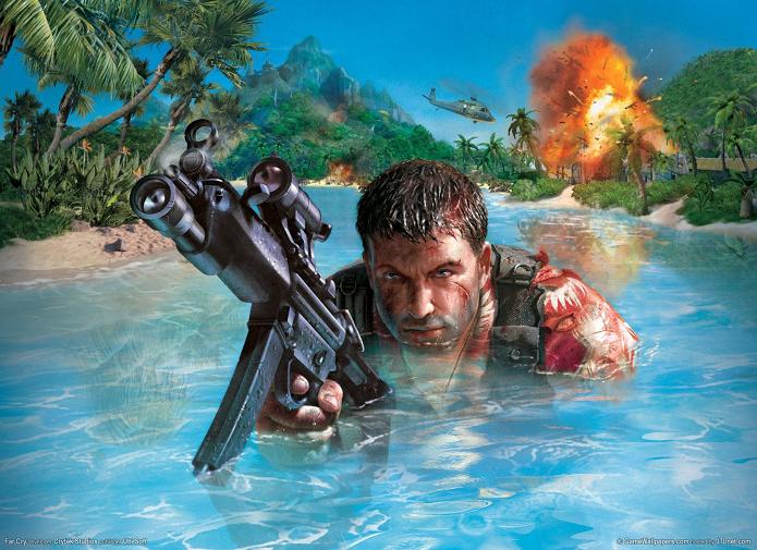 Primeiro Far Cry foi lançado só para PC, em 2004 (Foto: Divulgação)