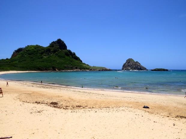 Praia do Sueste  (Foto: Ana Clara Marinho/TV Globo)