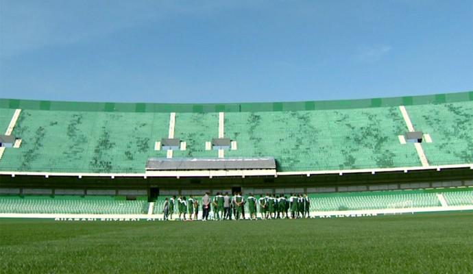 Guarani treino Brinco de Ouro (Foto: Jefferson Barbosa / EPTV)
