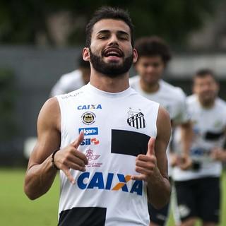 Thiago Maia Santos (Foto: Ivan Storti / Divulgação Santos FC)
