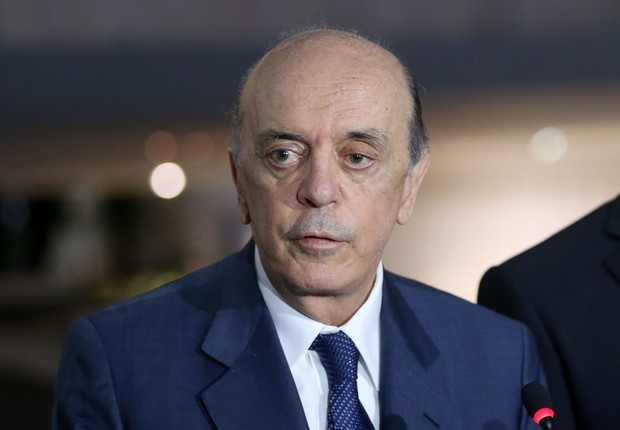 O ministro das Relações Exteriores José Serra (Foto: Wilson Dias/Agência Brasil)