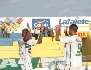 Jogadores do Icasa comemoram gol pela Taça Fares Lopes (Foto: Divulgação / Icasa)