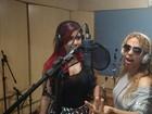 Joelma faz primeiro trabalho solo e grava música com banda do Recife