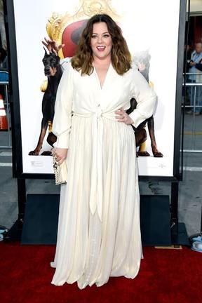 Melissa McCarthy em première de filme em Los Angeles, nos Estados Unidos (Foto: Frazer Harrison/ Getty Images/ AFP)
