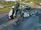 Acidente com ambulância deixa dois  mortos e feridos na BR-101, ES