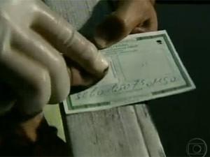 Carteira de identidade (Foto: Reprodução/TV Globo)