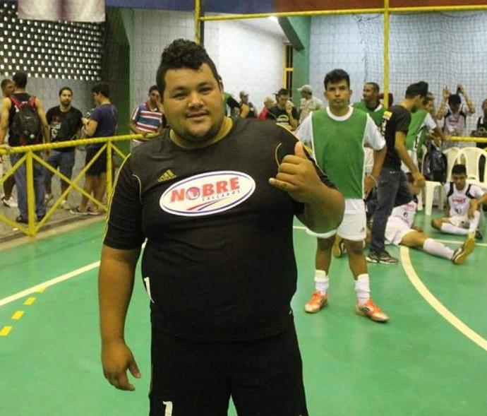Bacurin pretende perder 10 quilos até o início da Copa TV Grande Rio  (Foto: Arquivo Pessoal)