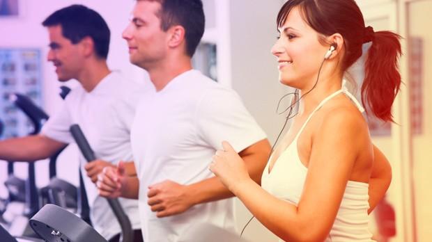 Ouvir msica durante o treino deixa o exerccio mais leve (Foto: Divulgao)