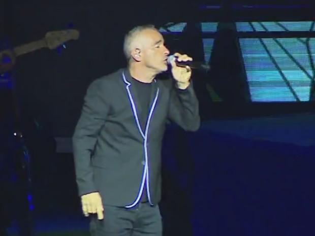 Eros Ramazzotti show Porto Alegre (Foto: Reprodução/RBS TV)