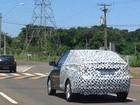 Hyundai HB20 sedã é flagrado no PR e tem nome confirmado