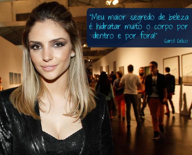 Carol Celico (Foto: Foto Rio News)