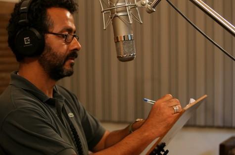 Marcos Palmeira faz a narração da série 'Jogos do mundo' (Foto: Globo/Pindorama Filmes)