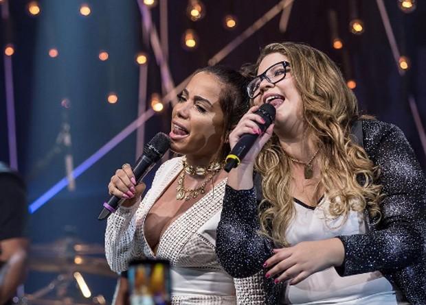 Anitta e Marília Mendonça (Foto: Randes Filho)