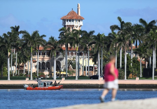 Resort e clube de golfe Mar-a-Lago, que pertence ao presidente norte-americano Donald Trump (Foto: Joe Raedle/Getty Images)
