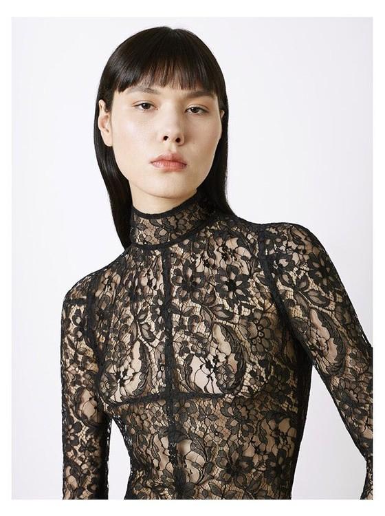 Angélica Erthal: modelo paranaense, de 23 anos, é o nome da vez na cena fashion internacional (Foto: Divulgação)