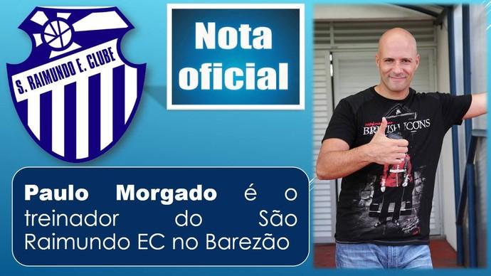 Paulo Morgado São Raimundo-AM (Foto: Divulgação)