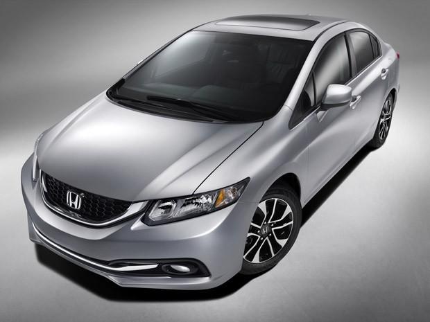 Honda Civic 2013 (Foto: Divulgação)