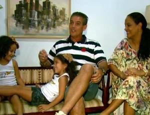 Paulo Roberto família Rio Claro (Foto: Reprodução EPTV)