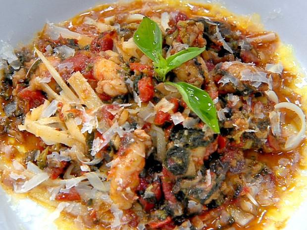 Fettuccine de palmito com lagostin - Que Marravilha - EP1 (Foto: Divulgao/GNT)