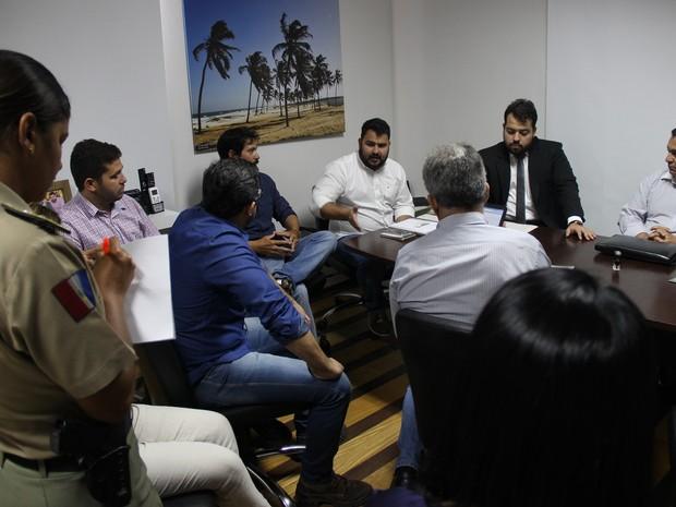 Associação de Bugueiros e IMA assinam TAC  (Foto: Divulgação/Ascom IMA)