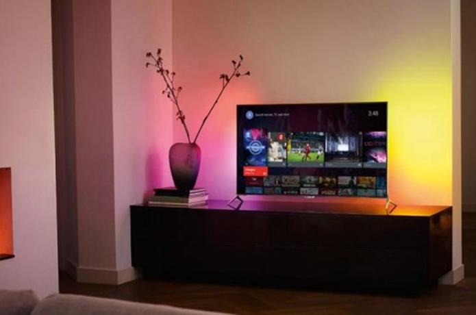 Philips oferece o Ambilight em seus televisores (Foto  Divulgação Philips) 02848101b451