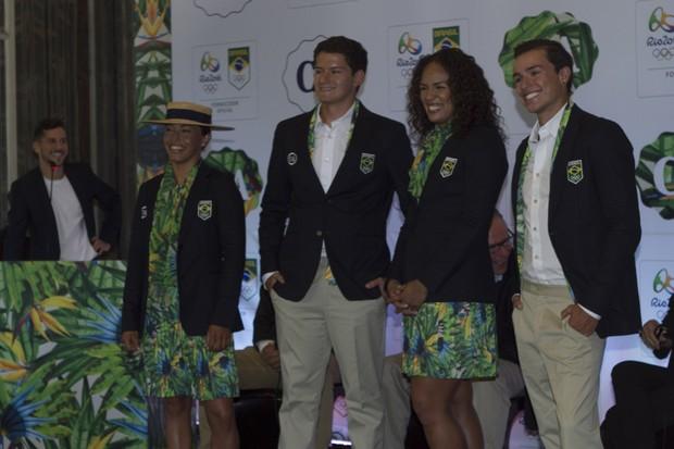 Uniformes Jogos Olímpicos 2016 (Foto: Anderson Barros/ EGO)