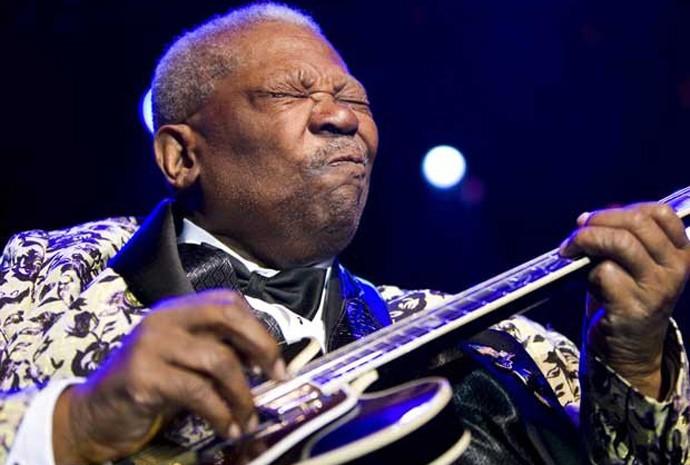 B.B. King tinha verdadeira paixão por seus instrumentos