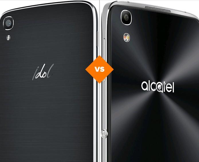 Idol 3 e Idol 4: confira o que mudou nos smartphones da Alcatel (Foto: Arte/TechTudo)