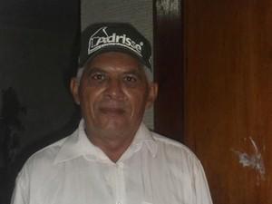 Candidato a vereador José Almir de Sousa foi assassinado após comício no interior do Ceará (Foto: Arquivo pessoa)