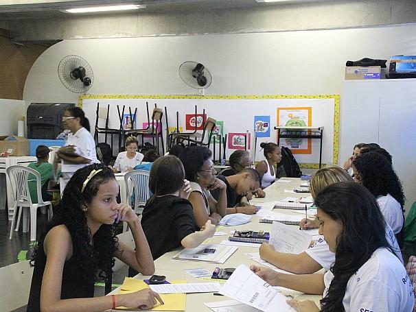 Ação Global Regional no Morro do Borel, zona norte do Rio de Janeiro (Foto: Divulgação/Isabel Butcher)