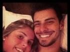 No Twitter, namorado posta foto com Bárbara Evans: 'Hora de acordar'