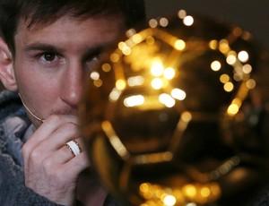 Lionel Messi Bola de Ouro (Foto: Reuters)