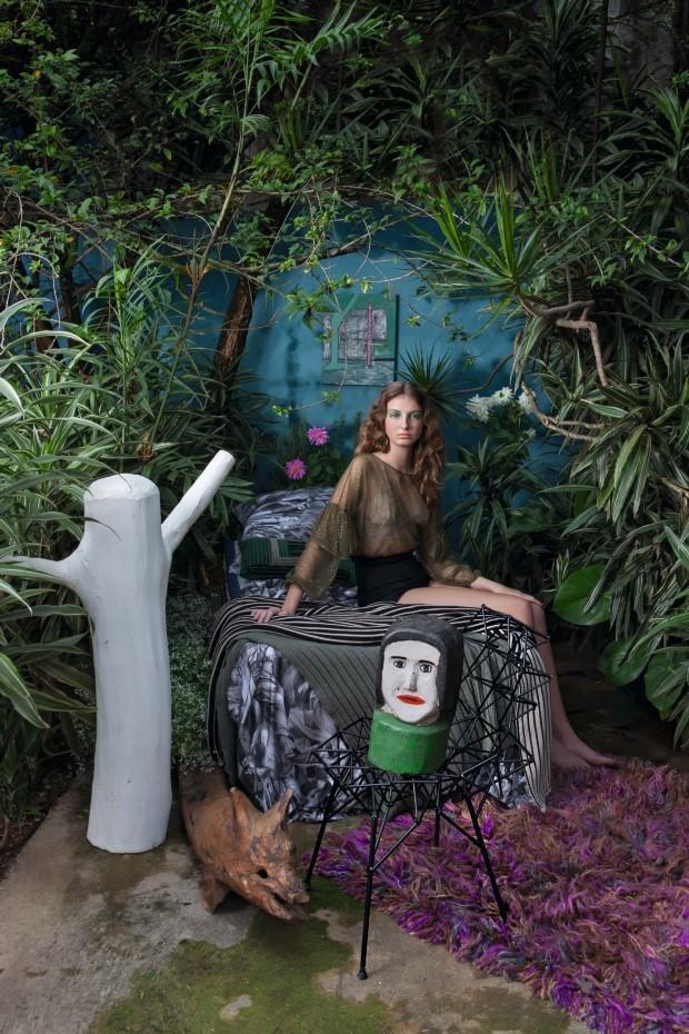 Decor Stories: ambientes cheios de verde com inspiração tribal (Foto:   Rogério Cavalcanti)