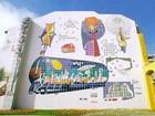 Ônibus faz trajeto especial por obras de Poty Lazarotto em Curitiba