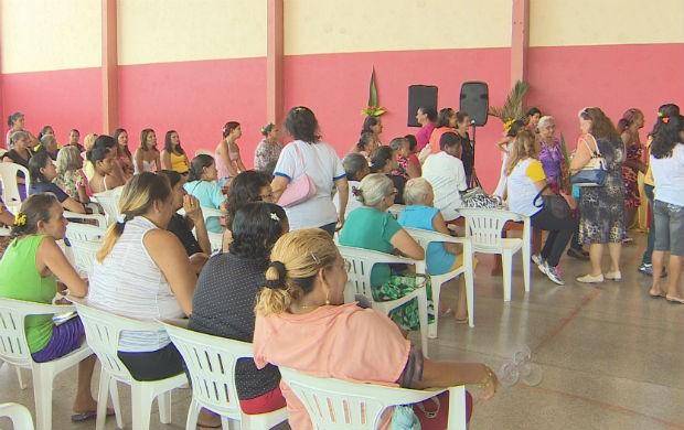 Parteiras do Amapá em programação especial (Foto: Reprodução/TV Amapá)