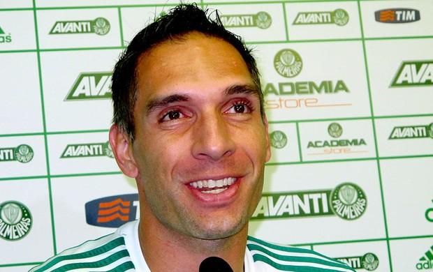 Fernando Prass coletiva Palmeiras (Foto: Marcelo Hazan)