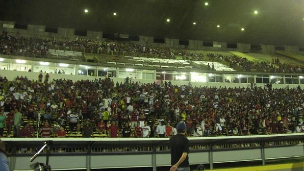 Estádio Albertão Teresina (Foto: Janir Junior / Globoesporte.com)