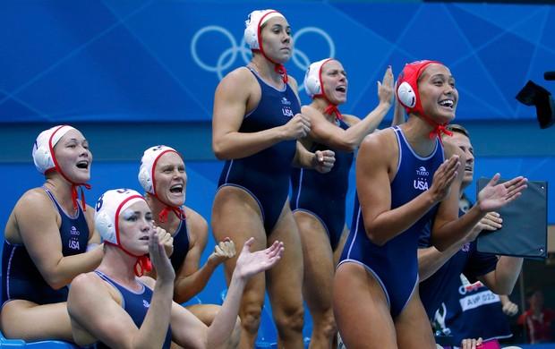 Pólo aquático EUA (Foto: Reuters)
