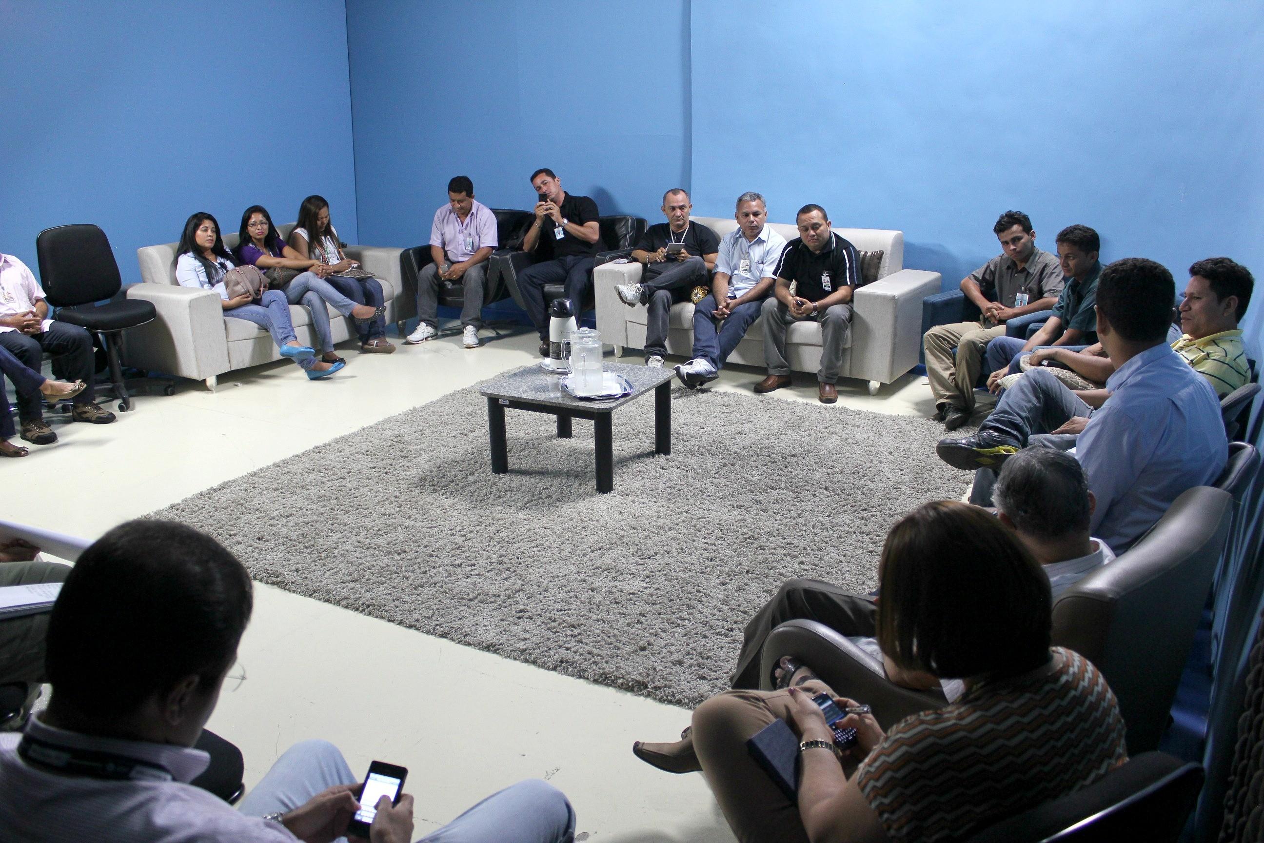 Os repórteres relataram desafios e projetos desenvolvidos no interior (Foto: Onofre Martins/ G1 AM)