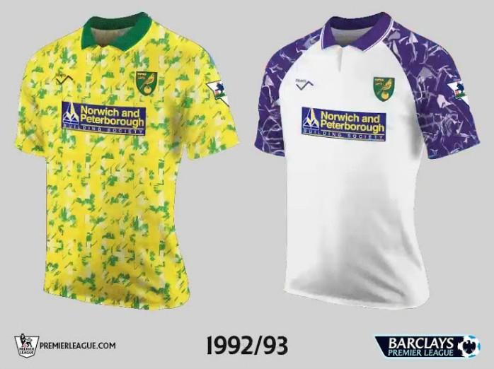 Norwich Premier League Retrô