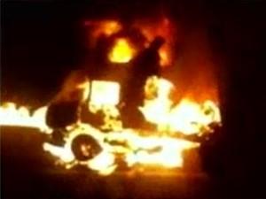 Polícia Rodoviária não tem informações sobre as causas do incêndio (Foto: Reprodução/TV Verdes Mares)