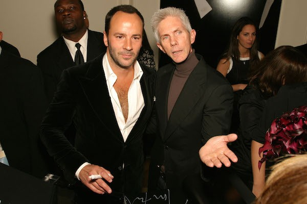 Tom Ford e seu marido, Richard Buckley (Foto: Getty Images)