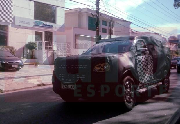 Flagra-nova-Chevrolet-Trailblazer (Foto: Teo Franco)
