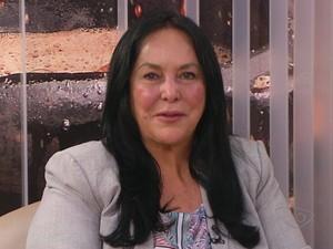 Rose de Freitas, senadora pelo Espírito Santo (Foto: Reprodução/ TV Gazeta)