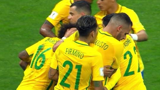 Parça de Neymar, Philippe Coutinho dá passo largo em direção à primeira Copa