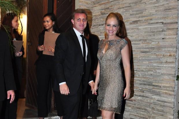 Angélica e Luciano Huck em casamento (Foto: Roberto Teixeira/EGO)