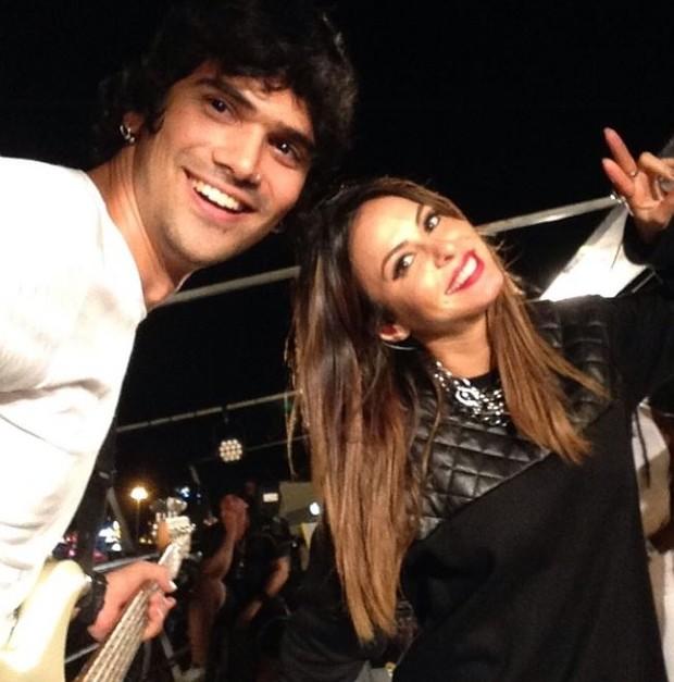 Alinne Rosa e Rodrigo Fróes (Foto: Reprodução/ Instagram)