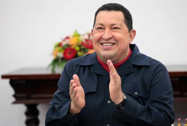 Presidente da Venezuela, Hugo Chávez, durante programa na terça-feira. (Foto: AFP)